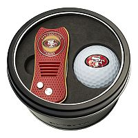 Team Golf San Francisco 49ers Switchfix Divot Tool & Golf Ball Set