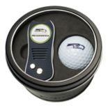 Team Golf Seattle Seahawks Switchfix Divot Tool & Golf Ball Set