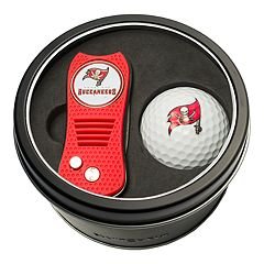 Team Golf Tampa Bay Buccaneers Switchfix Divot Tool & Golf Ball Set