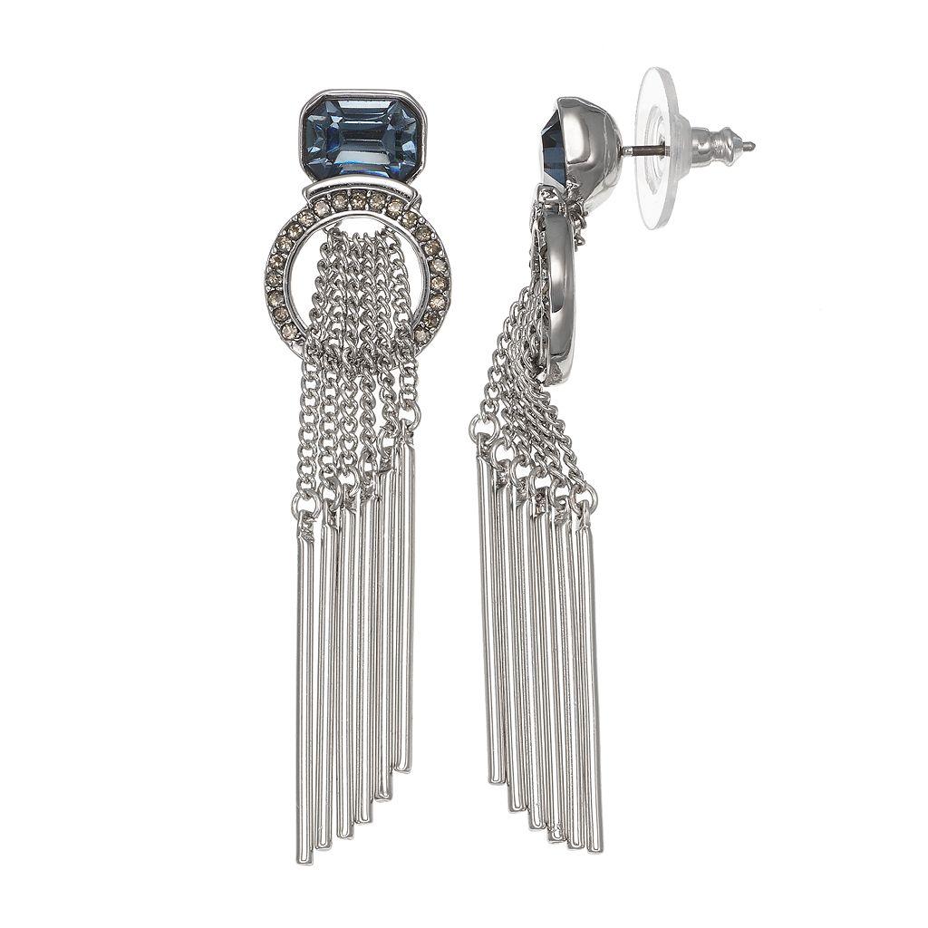Simply Vera Vera Wang Stick Fringe Nickel Free Linear Drop Earrings