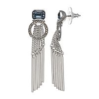 Simply Vera Vera Wang Stick Fringe Nickel Free Linear Drop Earrings