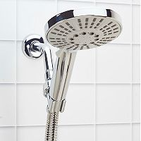 Bath Bliss Mikanos 5-Function Massage Showerhead & Cord Set