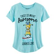 Girls 7-16 & Plus Size Despicable Me Minions 'This is What Awesome Looks Like' Graphic Tee