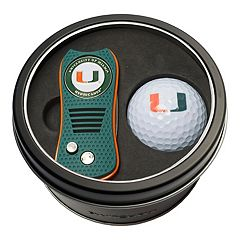 Team Golf Miami Hurricanes Switchfix Divot Tool & Golf Ball Set