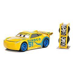 Disney/Pixar Cars 1:24 Cruz Ramirez Die Cast w/Tire Rack  by Jada Toys