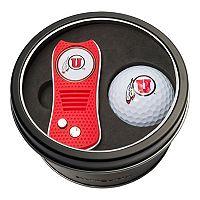 Team Golf Utah Utes Switchfix Divot Tool & Golf Ball Set