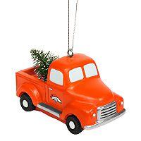 FOCO Denver Broncos Truck Christmas Ornament
