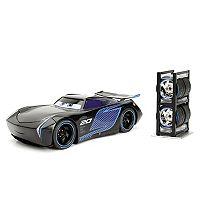 Disney/Pixar Cars 1:24 Jackson Storm Die Cast w/Tire Rack by Jada Toys