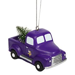 FOCO Minnesota Vikings Truck Christmas Ornament
