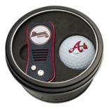 Team Golf Atlanta Braves Switchfix Divot Tool & Golf Ball Set