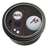 Team Golf Atlanta Braves Switchfix Divot Tool & Golf Ball Set