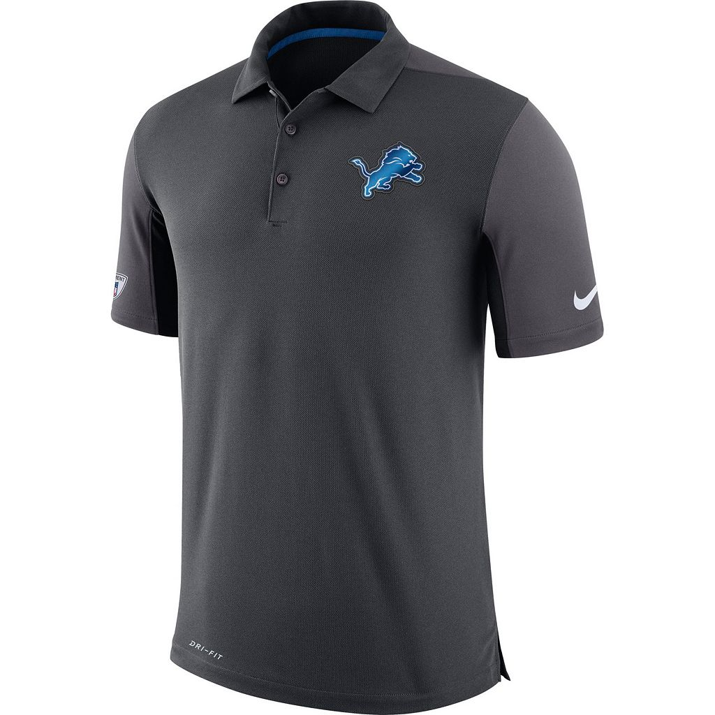 Men's Nike Detroit Lions Team Issue Dri-FIT Polo