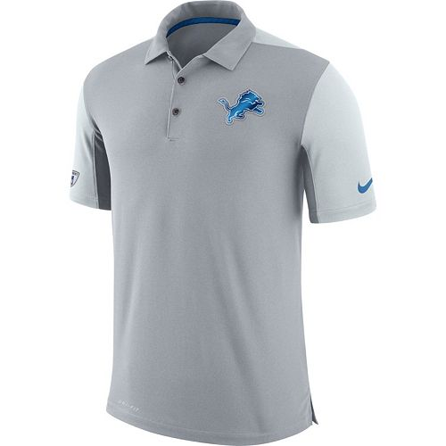 Men's Nike Detroit Lions Team Issue Dri-FIT Polo