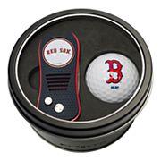 Team Golf Boston Red Sox Switchfix Divot Tool & Golf Ball Set