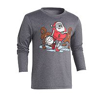 Boys 4-7 Under Armour Santa & Gingerbread Men Basketball Graphic Tee