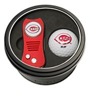Team Golf Cincinnati Reds Switchfix Divot Tool & Golf Ball Set