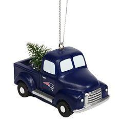 FOCO New England Patriots Truck Christmas Ornament