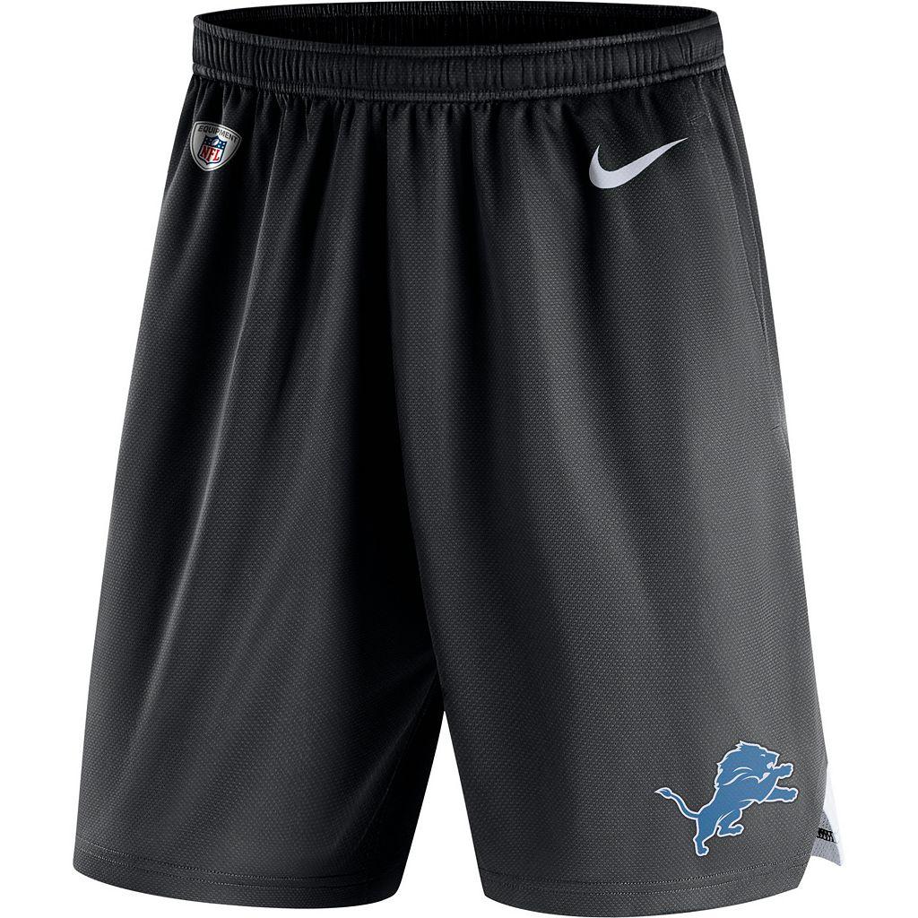 Men's Nike Detroit Lions Knit Dri-FIT Shorts