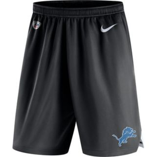 Men's Nike Detroit Lions Knit Dri-FIT Shorts