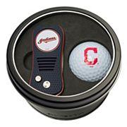 Team Golf Cleveland Indians Switchfix Divot Tool & Golf Ball Set
