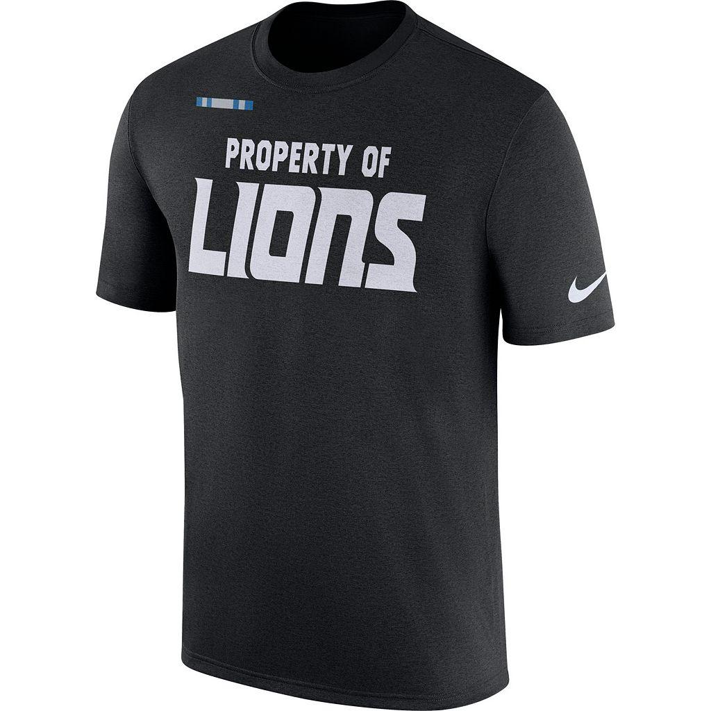 Men's Nike Detroit Lions Property Of Tee