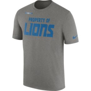 Men's Nike Detroit Lions Property Of Tee