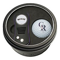 Team Golf Colorado Rockies Switchfix Divot Tool & Golf Ball Set