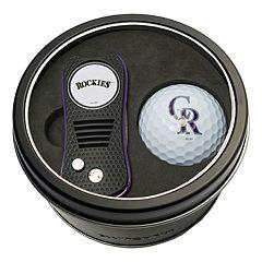 Team Golf Colorado Rockies Switchfix Divot Tool & Golf Ball Set