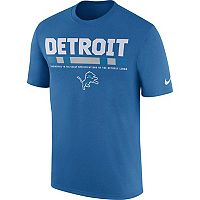Men's Nike Detroit Lions Legend Staff Tee