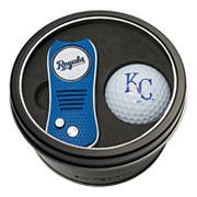 Team Golf Kansas City Royals Switchfix Divot Tool & Golf Ball Set