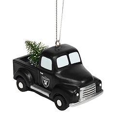 FOCO Oakland Raiders Truck Christmas Ornament
