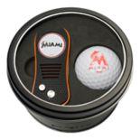 Team Golf Miami Marlins Switchfix Divot Tool & Golf Ball Set