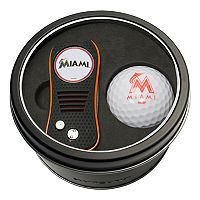 Team Golf Miami Marlins Switchfix Divot Tool & Golf Ball Set