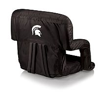 Picnic Time Michigan State Spartans Ventura Portable Recliner Chair