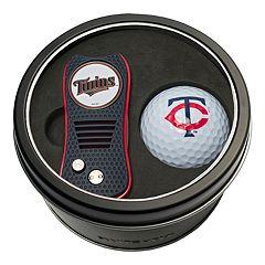 Team Golf Minnesota Twins Switchfix Divot Tool & Golf Ball Set