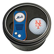 Team Golf New York Mets Switchfix Divot Tool & Golf Ball Set