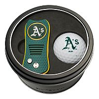 Team Golf Oakland Athletics Switchfix Divot Tool & Golf Ball Set