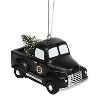 FOCO Boston Bruins Truck Christmas Ornament