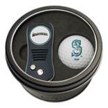 Team Golf Seattle Mariners Switchfix Divot Tool & Golf Ball Set