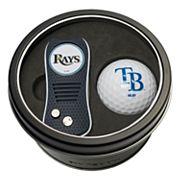 Team Golf Tampa Bay Rays Switchfix Divot Tool & Golf Ball Set