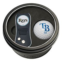Team Golf Tampa Bay Rays Switchfix Divot Tool & Golf Ball Set