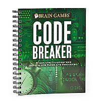 Brain Games Code Breaker Book by Publications International, Ltd.