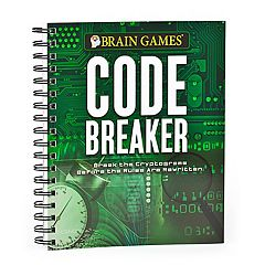 Brain Games Code Breaker Book by Publications International, Ltd.