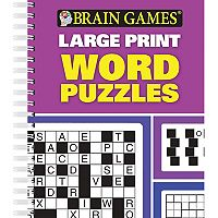 Brain Games Large Print Word Puzzles