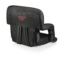 Picnic Time Virginia Tech Hokies Ventura Portable Recliner Chair