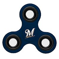 Milwaukee Brewers Diztracto Three-Way Fidget Spinner Toy