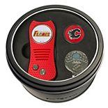 Team Golf Calgary Flames Switchfix Divot Tool, Cap Clip & Ball Marker Set