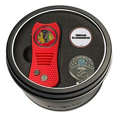 Team Golf Chicago Blackhawks Switchfix Divot Tool, Cap Clip & Ball Marker Set