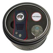 Team Golf Columbus Blue Jackets Switchfix Divot Tool, Cap Clip & Ball Marker Set