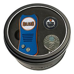 Team Golf Edmonton Oilers Switchfix Divot Tool, Cap Clip & Ball Marker Set